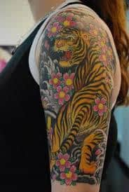 881e434f4 What Does Japanese Tiger Tattoo Mean? | 45+ Ideas and Designs
