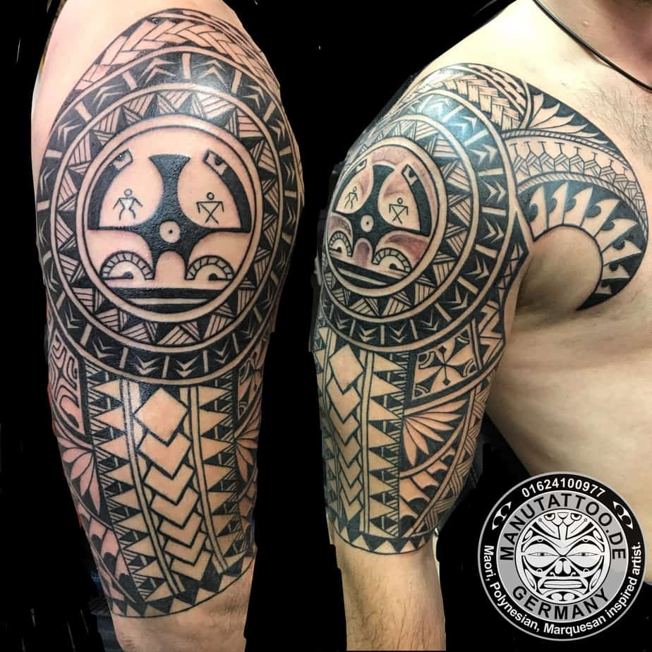 9 best polynesian tattoo artists top shops studios for Best polynesian tattoo artist