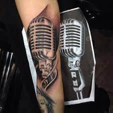 What Does Microphone Tattoo Mean Represent Symbolism