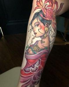 Mike Boissoneault Tattoo Artist 1