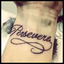 Perseverance Tattoo 2