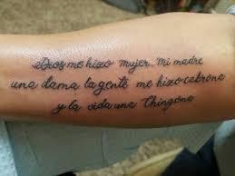 Poem Tattoos 27
