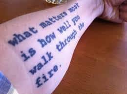 Poem Tattoos 35