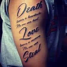 Poem Tattoos 43