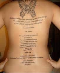 Poem Tattoos 49