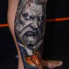What Does Poseidon Tattoo Mean 45 Ideas And Designs