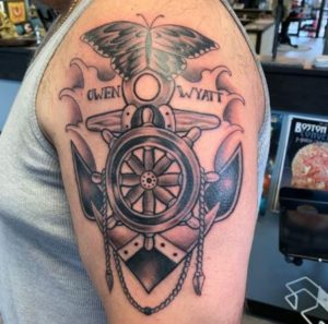 Providence Tattoo Artist Jeff Burt 1