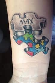 Puzzle Piece Tattoo 13