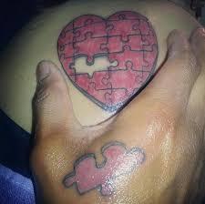 Puzzle Piece Tattoo 15