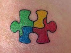 Puzzle Piece Tattoo 20