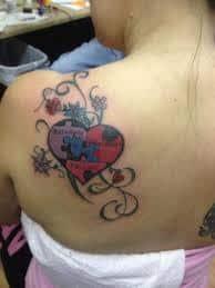 Puzzle Piece Tattoo 30