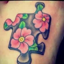 Puzzle Piece Tattoo 36
