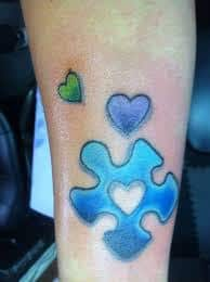 Puzzle Piece Tattoo 48