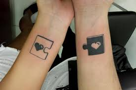 Puzzle Piece Tattoo 5
