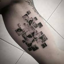 Puzzle Piece Tattoo 59