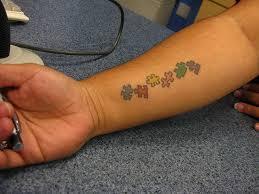 Puzzle Piece Tattoo 60