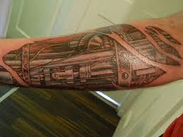 Robot Arm Tattoo 13