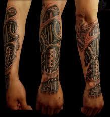 Robot Arm Tattoo 27