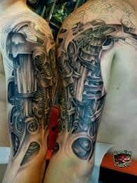 Robot Arm Tattoo 41