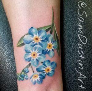 South Haven Tattoo Artist Sam Dustin 2