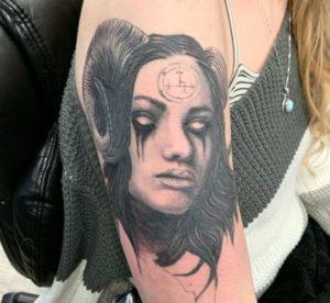 Spokane Tattoo Artist Sharla 2
