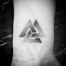Valknut Tattoo 1