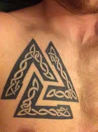 Valknut Tattoo 10