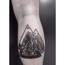 Valknut Tattoo 14