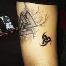 Valknut Tattoo 20
