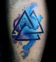 Valknut Tattoo 22