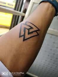 Valknut Tattoo 23