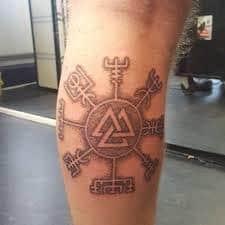 Valknut Tattoo 27