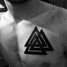 Valknut Tattoo 3