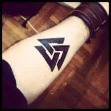 Valknut Tattoo 33