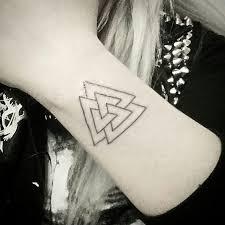 Valknut Tattoo 38
