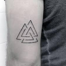 Valknut Tattoo 48