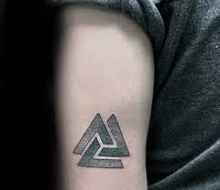 Valknut Tattoo 5