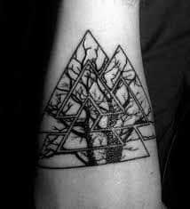 Valknut Tattoo 55