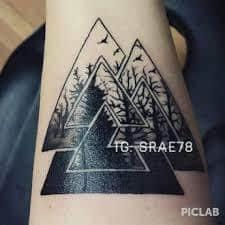 Valknut Tattoo 56