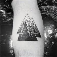 Valknut Tattoo 6