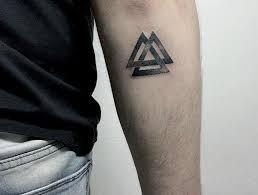Valknut Tattoo 8