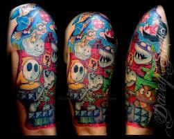 Video Game Tattoos 12