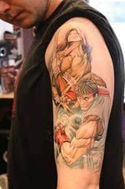 Video Game Tattoos 24
