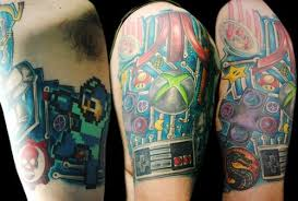 Video Game Tattoos 45