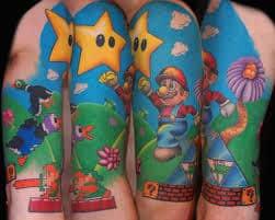 Video Game Tattoos 55