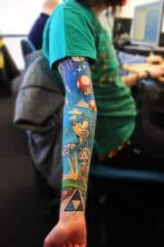 Video Game Tattoos 9