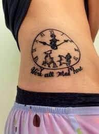Were All Mad Here Tattoo 13