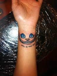 Were All Mad Here Tattoo 23
