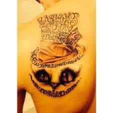 Were All Mad Here Tattoo 43