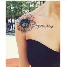 You Are My Sunshine Tattoo 28